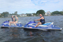 people on jet ski rentals